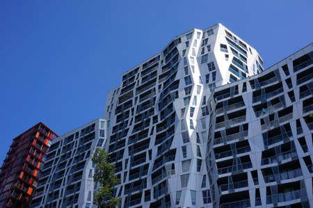 Modern architecture in Rotterdam, the Netherlands