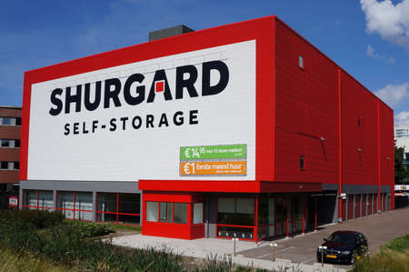 warehouse building: Shurgard self storage facility in the Netherlands Editorial