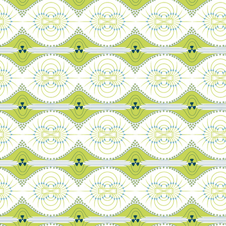repulse: Seamless pattern of magnetic field, sign of radiation