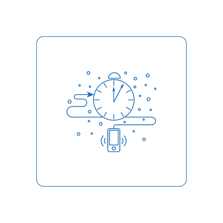 piktogramm: Line style piktogramm, symbols for web. Button of business report. Isolated on background and easy to use. Perfect icon your site. line style icons