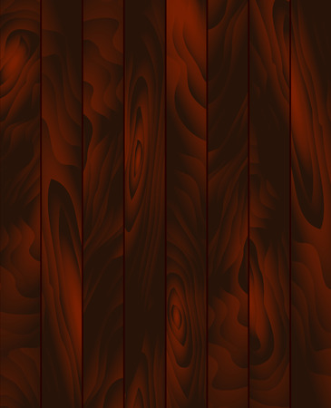 panels: Vector wood texture. Background dark brown panels. Grunge  wooden texture, vector background. Vertical stripes.