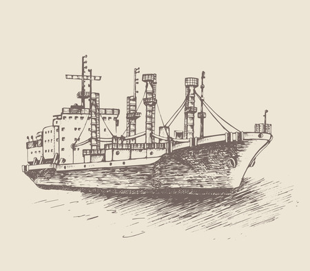 refrigerated: Cargo ship, reefer Forward