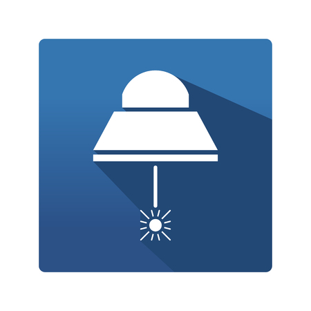 industrial lamp icon Illustration