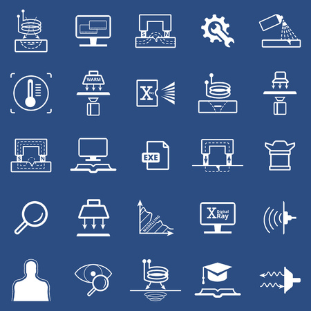 Computer and technology icons set