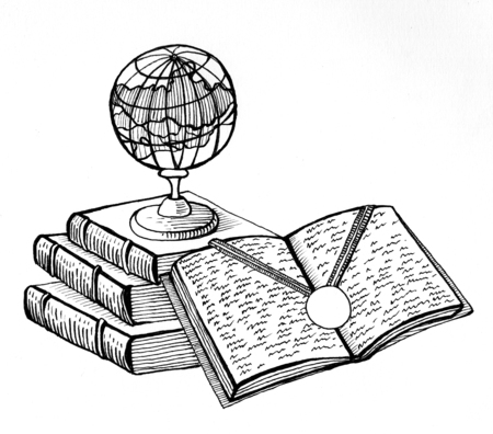 Illustration. A symbol of good learning.