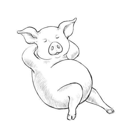 1447 Pork Belly Stock Vector Illustration And Royalty Free Pork