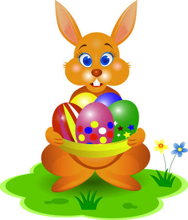 funy: funy ester rabbit illustration