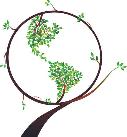 Earth tree Stock Vector - 4719028