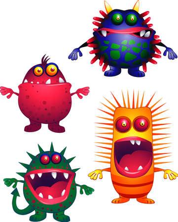 Tiny viruses Stock Vector - 4742425
