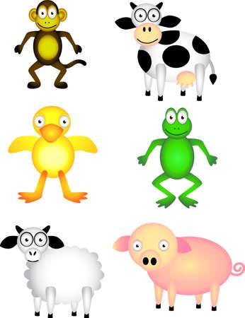Animals cartoon Stock Vector - 4796177