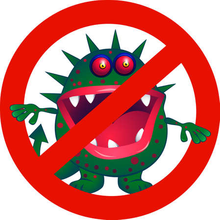 bock: No Virus Illustration