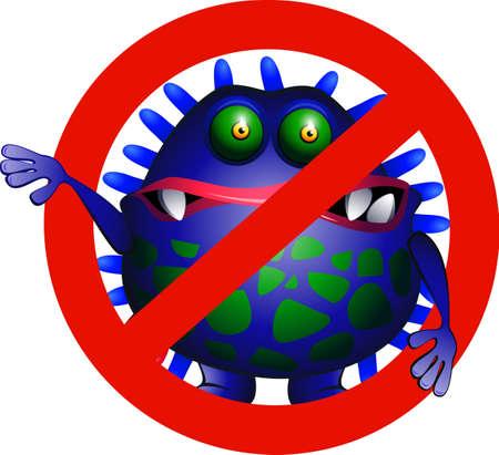 No virus Stock Vector - 5278327