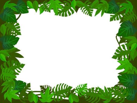 Forest frame Stock Vector - 5299303