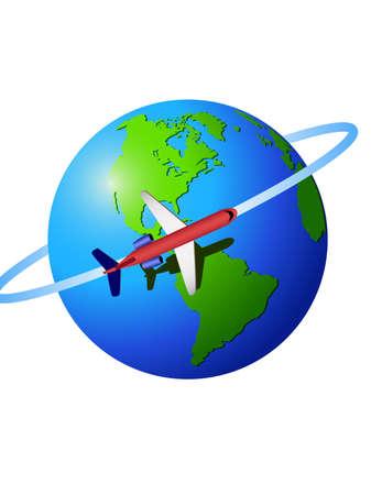 Travel Stock Vector - 5450890