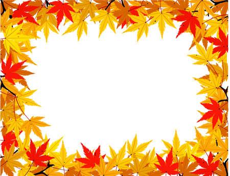 profusion: Autumn leaf Illustration