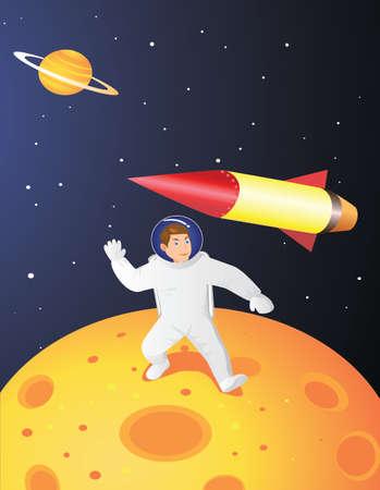 Astronaut Stock Vector - 5738126
