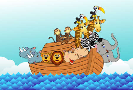Noah ark Stock Vector - 5955673