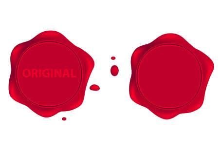 기밀: Seal wax 일러스트