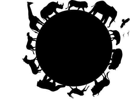 flusspferd: Tier Afrikas