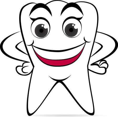 medizin logo: Gl�cklich Zahn