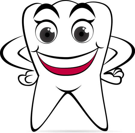 tooth icon: Happy tooth