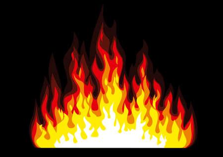 voiture de pompiers: Feu