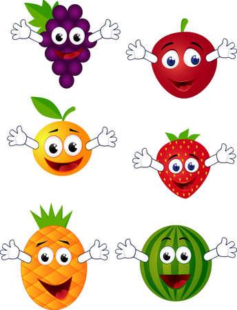 Fruit cartoon Stock Vector - 7403532