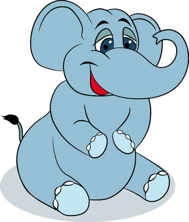 elephant nose: Cute elephant