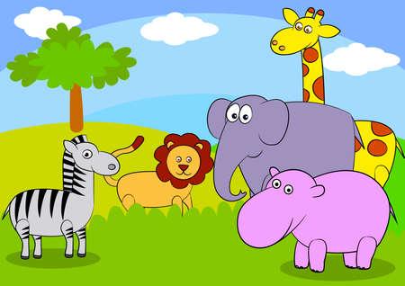 동물 만화