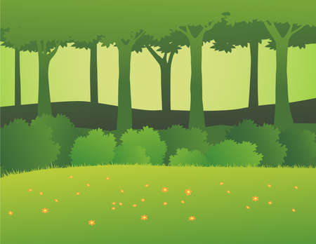 forest Stock Vector - 7511805