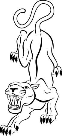 Tiger tattoo Stock Vector - 7529305