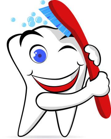 holten: Tooth karakter