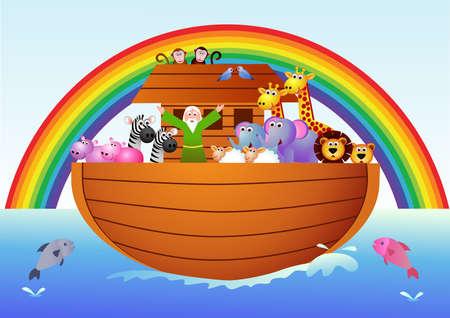 Noah ark Stock Vector - 7679150
