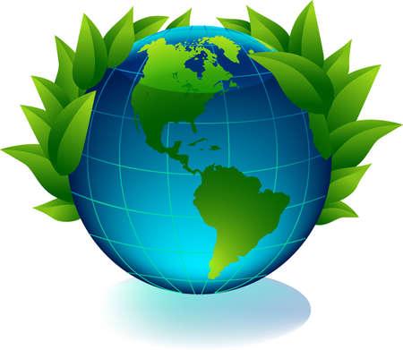 Green earth Stock Vector - 7679151