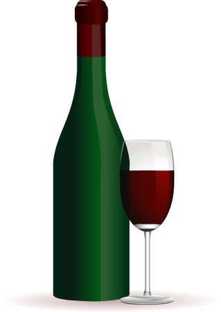 wine Stock Vector - 8249338