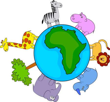 wildlife conservation: animal africa