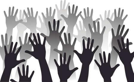 aumento de mano
