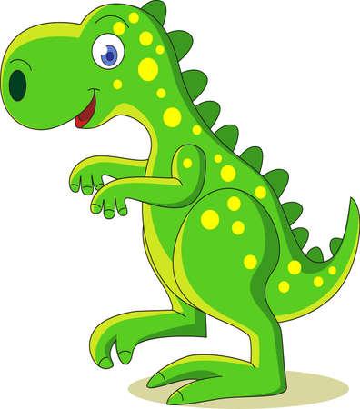 Dinosaurus cartoon Vector