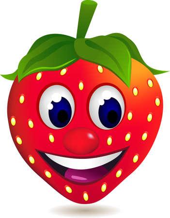 fraise: caract�re de carton fraises