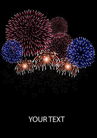 fireworks Stock Vector - 8507246