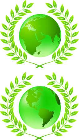 conciencia moral: tierra verde