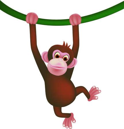 orangutang: mokey cartoon