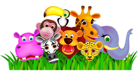 animal cartoon Stock Vector - 9206909