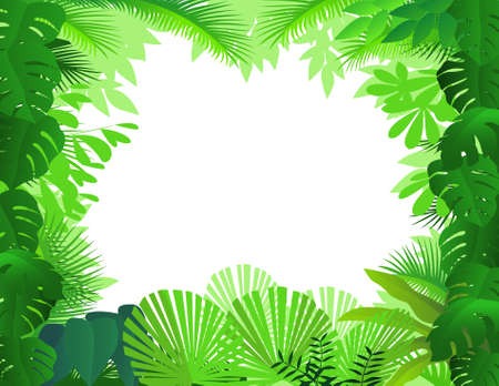 Forest background Stock Vector - 9508681