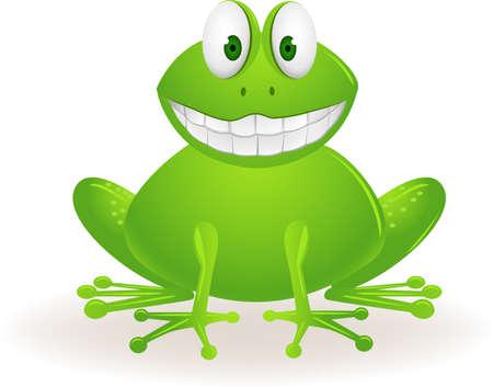 Frog cartoon Stock Vector - 9569136