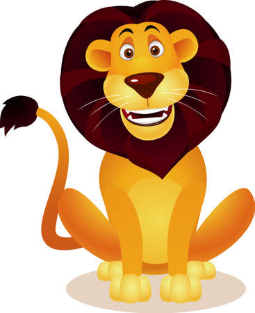 Lion cartoon Stock Vector - 9569151