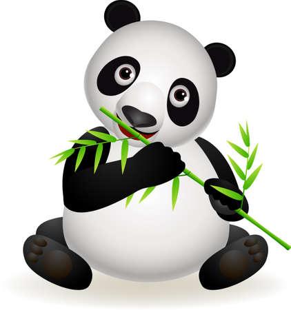 bamboo cartoon Vector