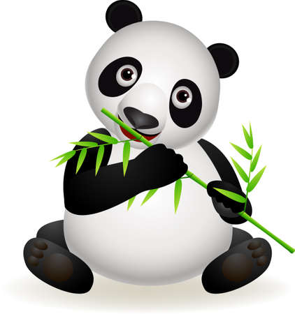 bamboo cartoon Stock Vector - 9569127