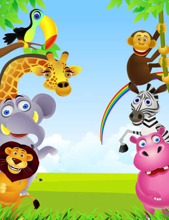 hippopotamus: dibujos de animales