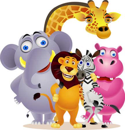 zwierzę: zwierzÄ…t kreskówki